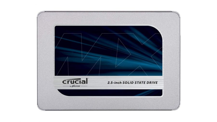 Best SSD for gaming runner-up Crucial MX500