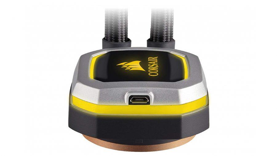 Corsair H100i Pro RGB pump
