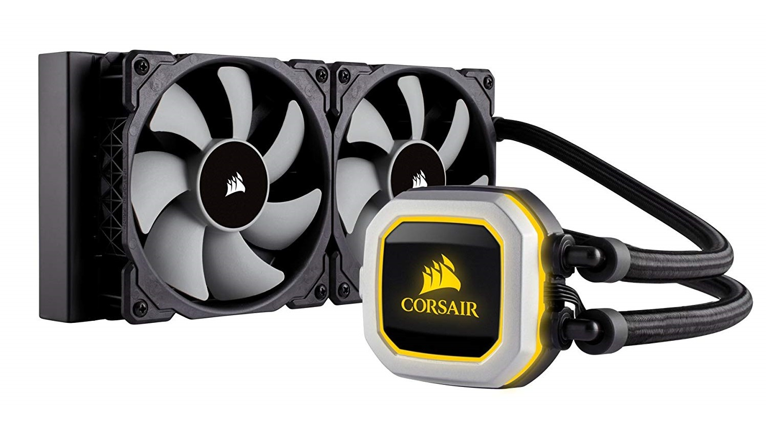 Corsair H100i Pro Rgb Review A Liquid Cpu Cooler That S