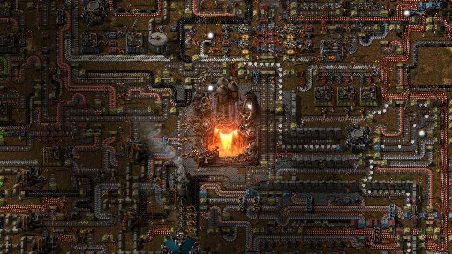 One of the best management games, Factorio