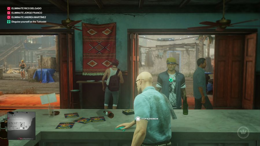 hitman 2 s colombia level lets you take selfies and stab a. Black Bedroom Furniture Sets. Home Design Ideas