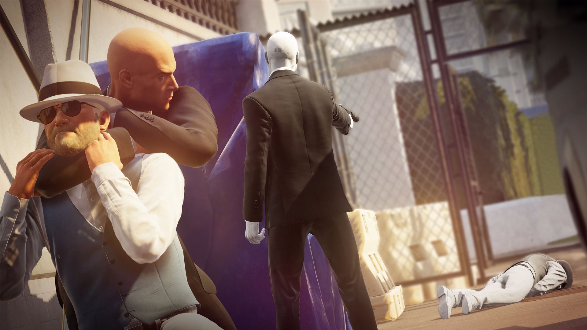 Hitman 2 one-versus-one online competitive Ghost Mode announced