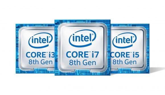 Intel 8th Gen Intel Core badges