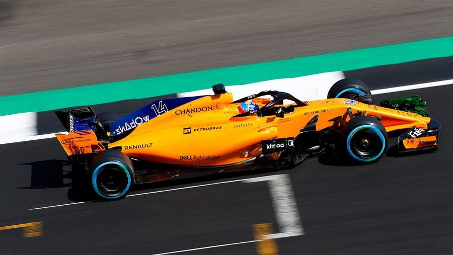 McLaren Shadow F1 livery