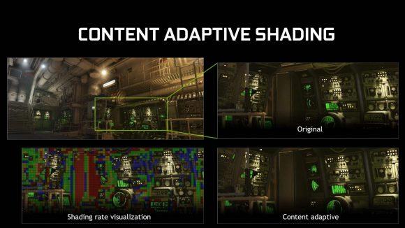 Nvidia Turing content adaptive shading