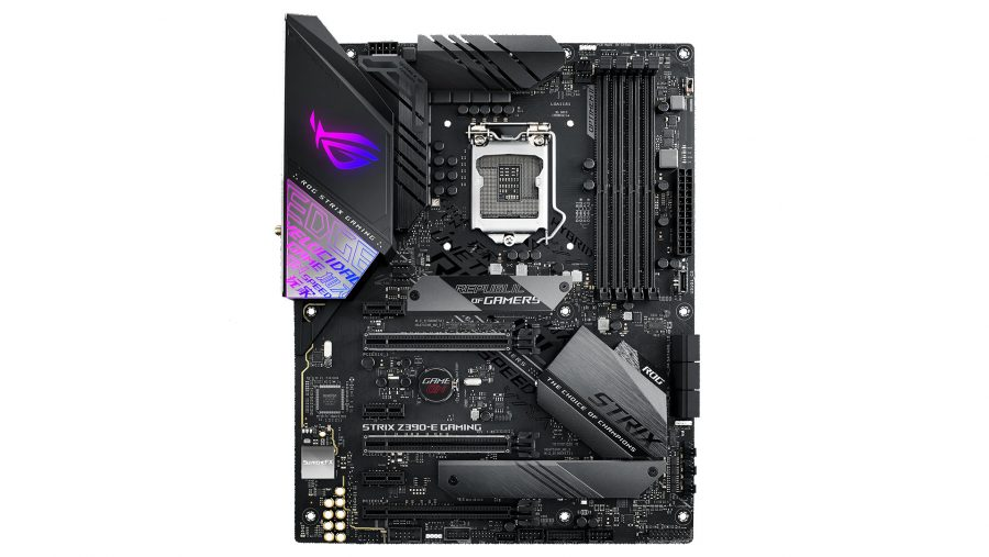 ROG Strix Z390-E Gaming ATX motherboard