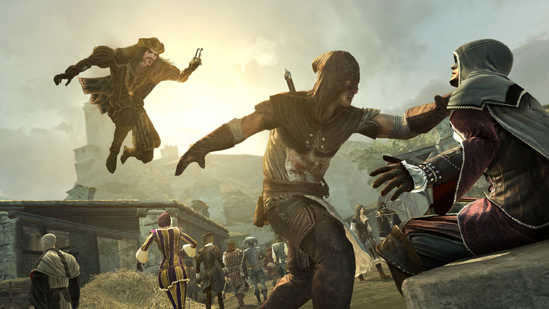 Ubisoft Wants To Bring Back Assassin S Creed Multiplayer Pcgamesn