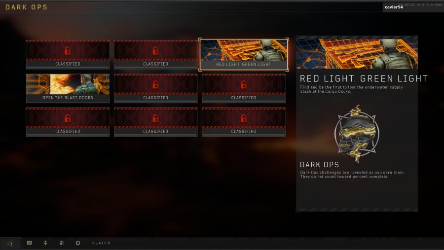 blackout dark ops challenges