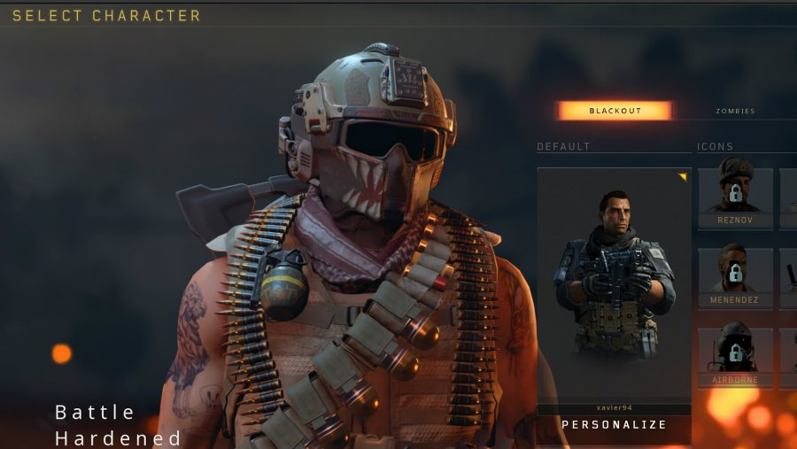 blackout skins battle hardened