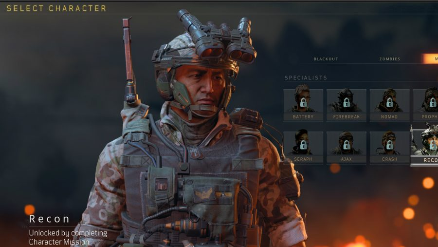 blackout skins recon