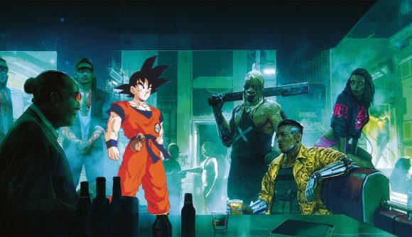 Bandai Namco brings you Goku, Geralt, and now Cyberpunk 2077
