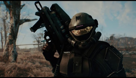 This Mod Lets You Wear Halo Armor In Fallout 4 Pcgamesn
