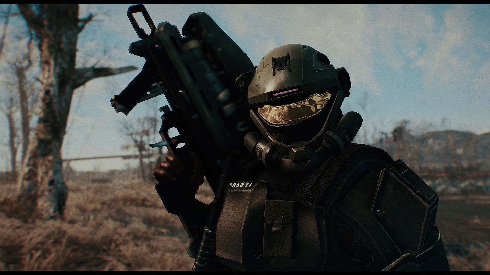 This mod lets you wear Halo armor in Fallout 4 | PCGamesN
