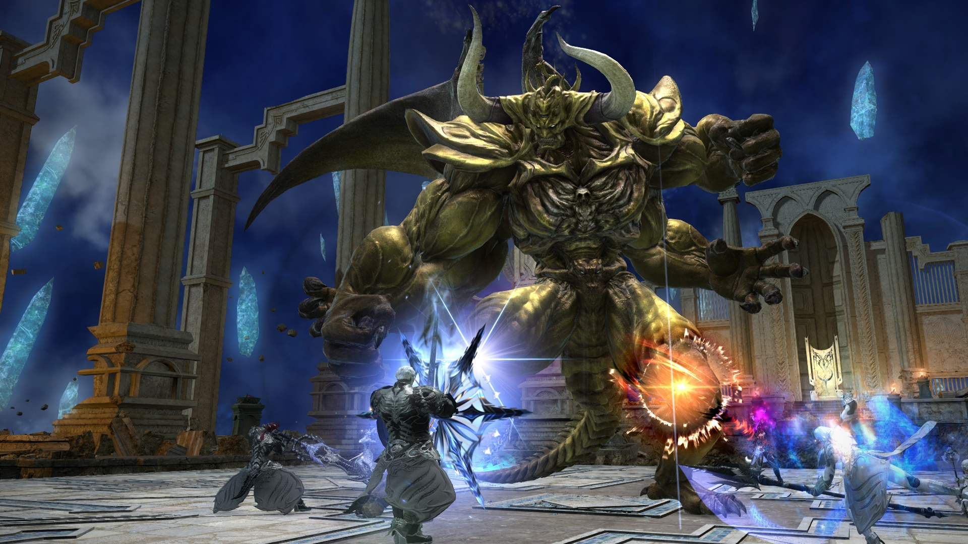 The full Final Fantasy XIV interview – fitting the single