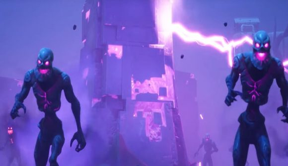 Fortnite S Purple Cube Kevin Will Explode Or Something Today