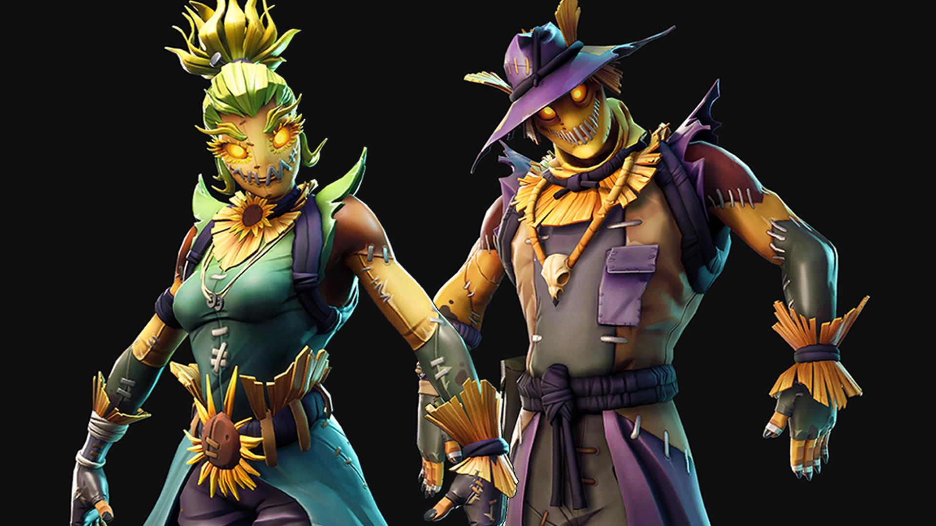 Fortnite Halloween Skin Leak Reveals Scarecrows And T