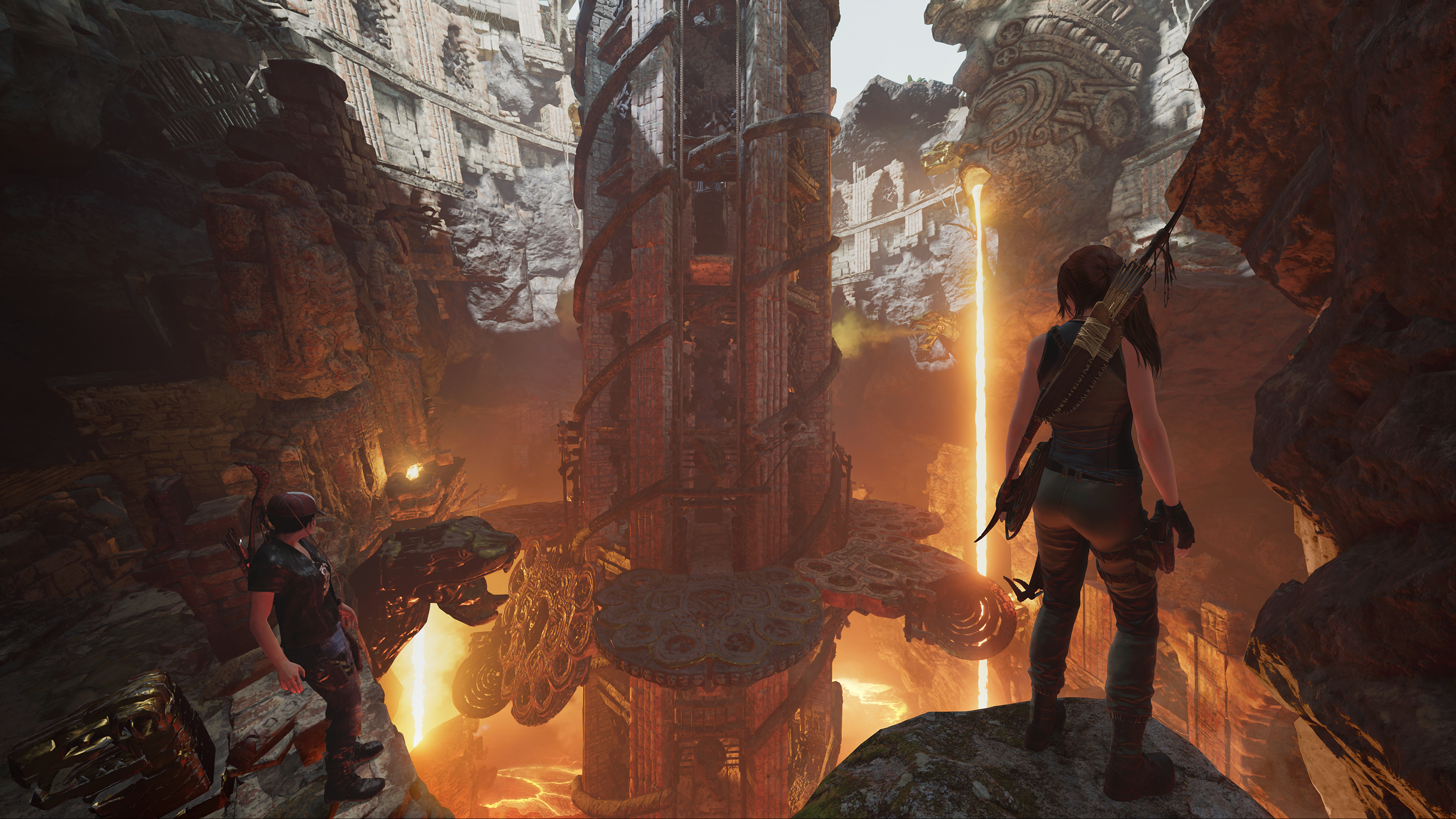 Shadow of the Tomb Raider's first DLC is a lava-filled co ...  Shadow of the T...