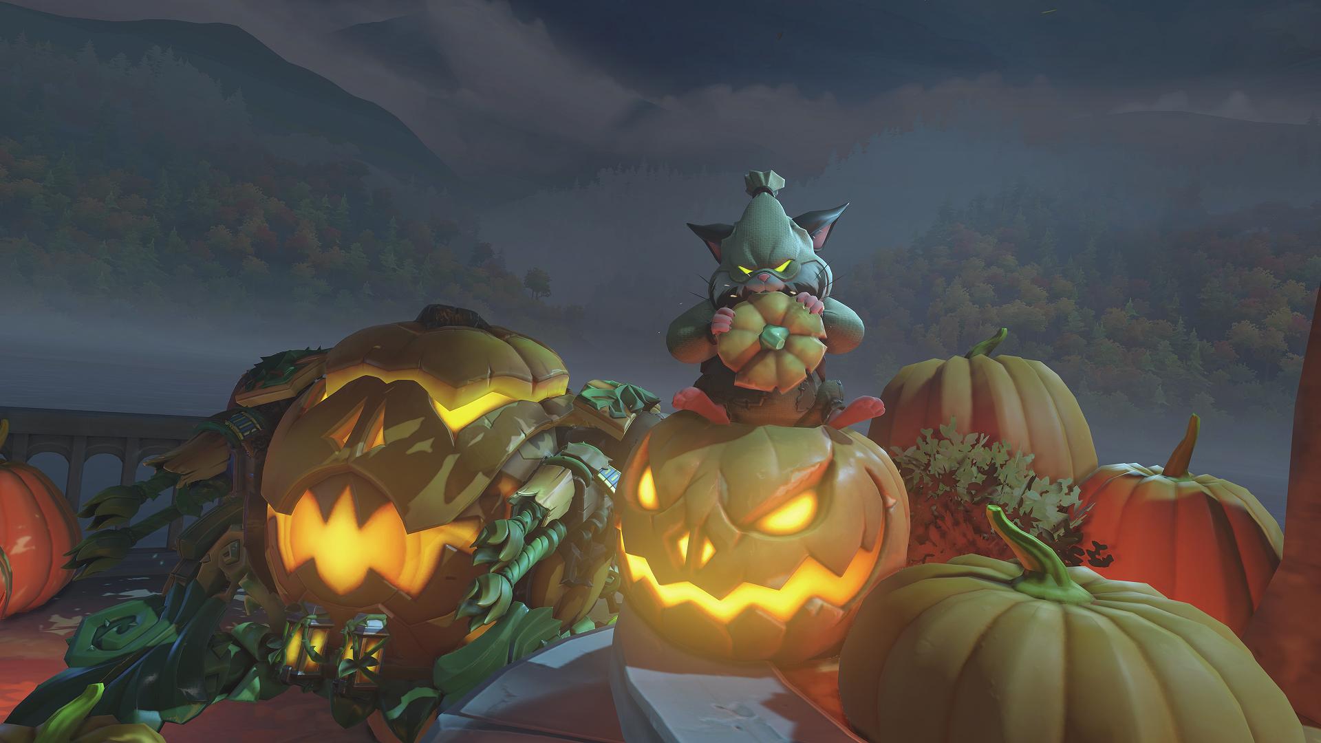 Here S Every Overwatch Halloween Terror Skin In One