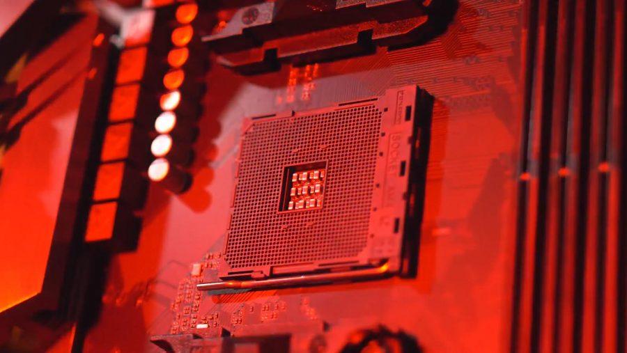 AMD AM4 motherboard socket