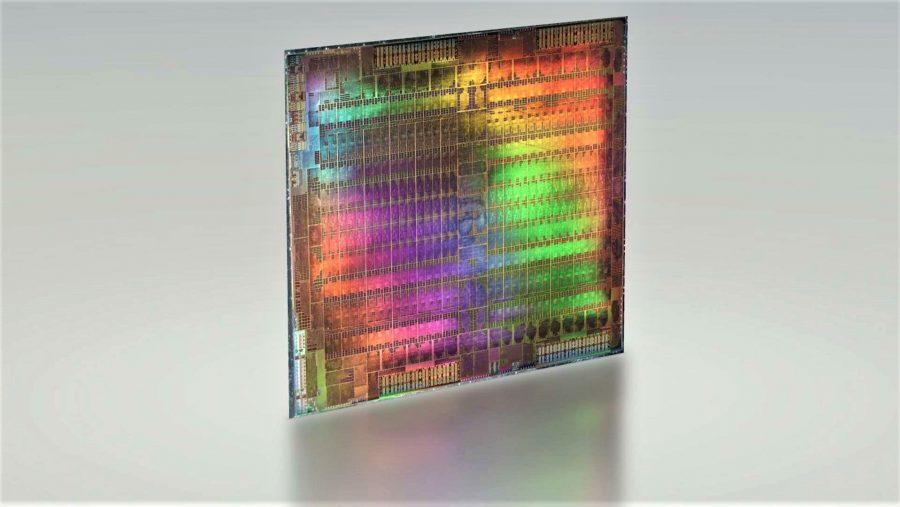 AMD GPU die 3D