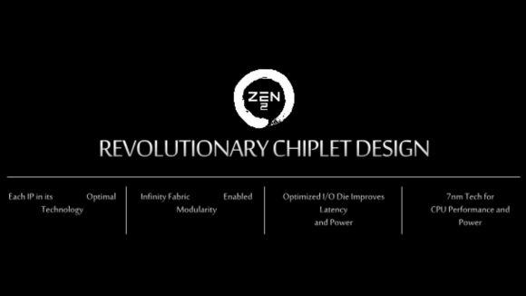 AMD Zen 2 chiplet design