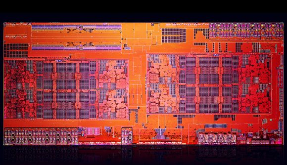 AMD Zen architecture die shot