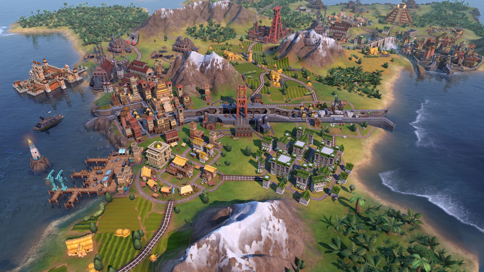 This Civilization 6 mod gives you more options for industrial zones