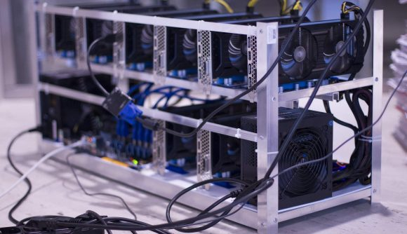 Cryptocurrency mining rig