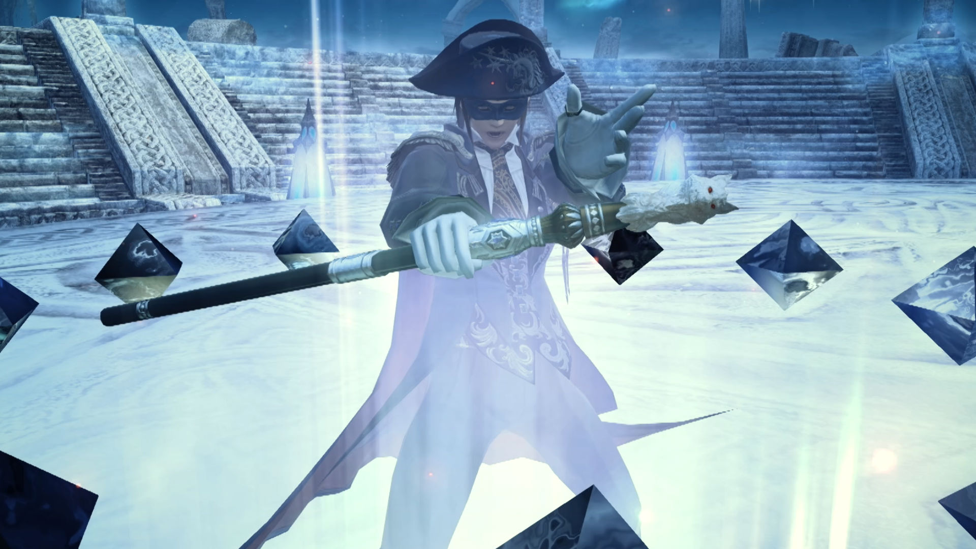 """The new Final Fantasy XIV Blue Mage """"limited job"""" is"""