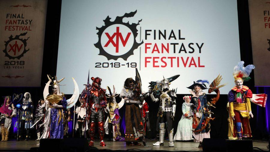 FFXIV Fan Fest cosplay