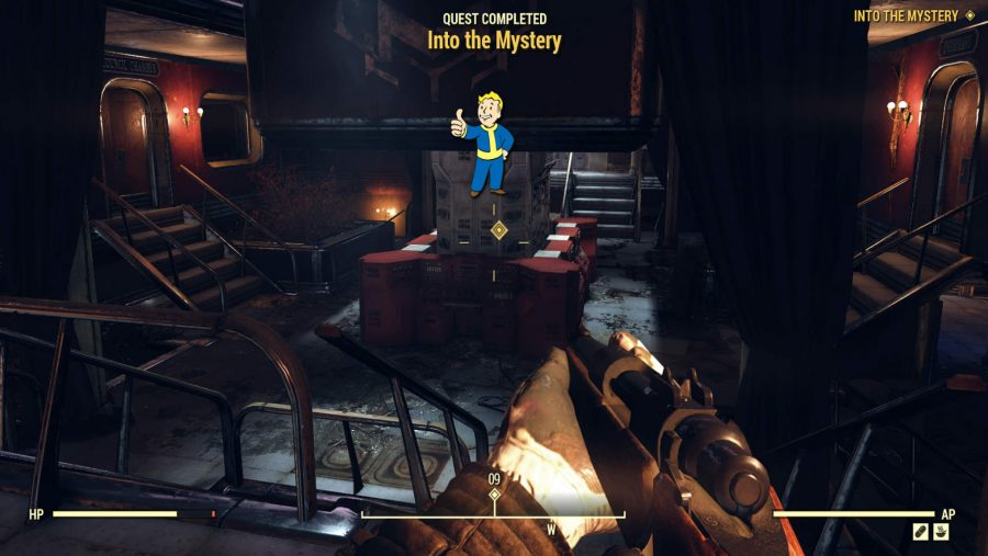 Fallout 76 factions order of mysteries