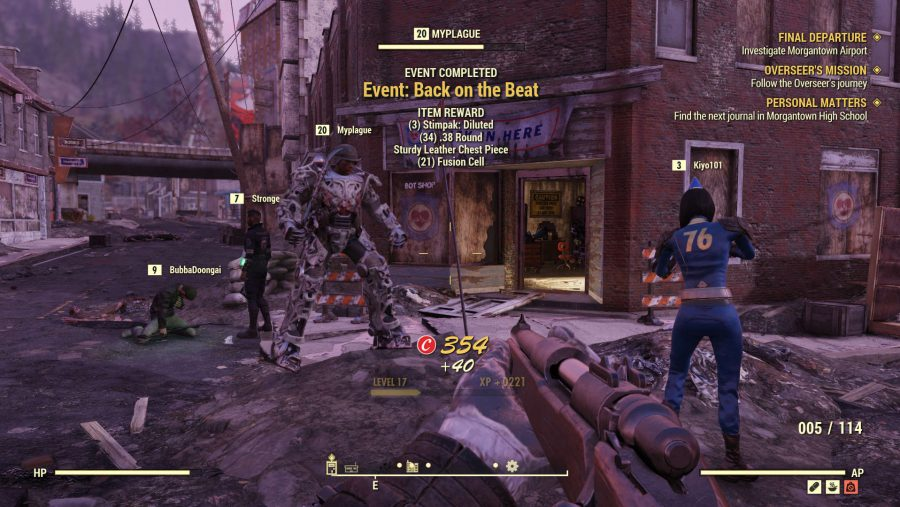 Fallout 76 public event completion