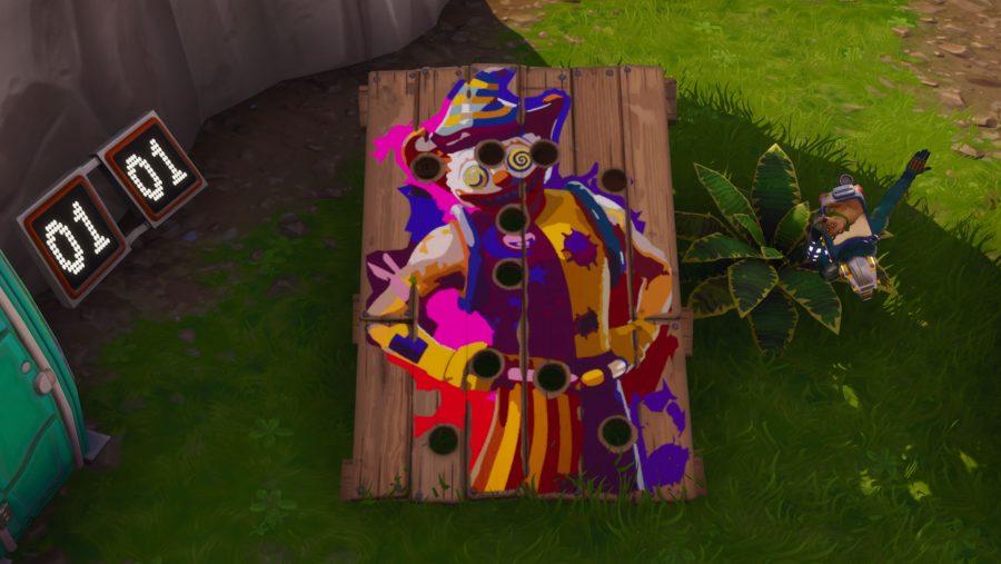Fortnite Carnival Clown Boards locations