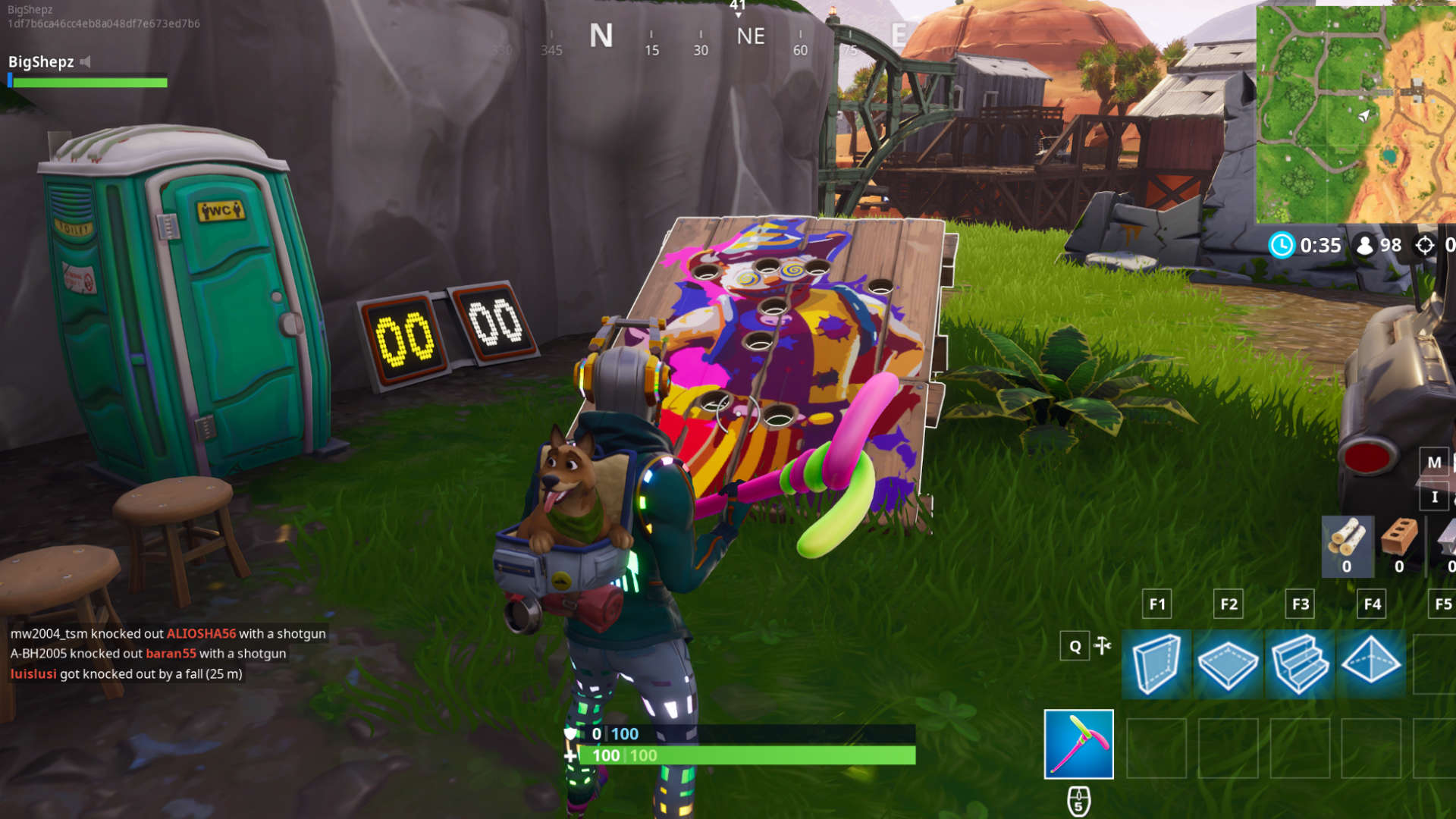 fortnite carnival clown boards locations retail row - how to play the clown game in fortnite