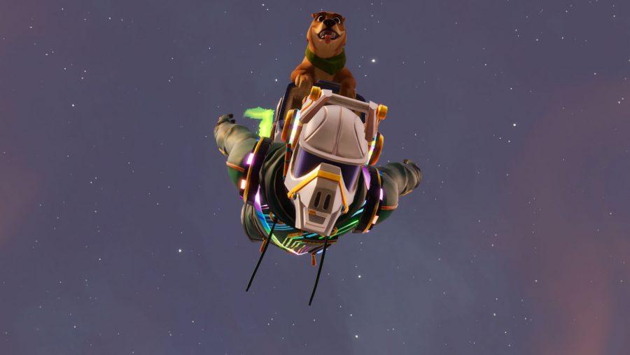 Fortnite skydive through floating rings