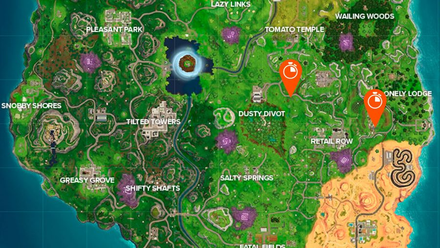 All Fortnite vehicle timed trials locations: where to complete three