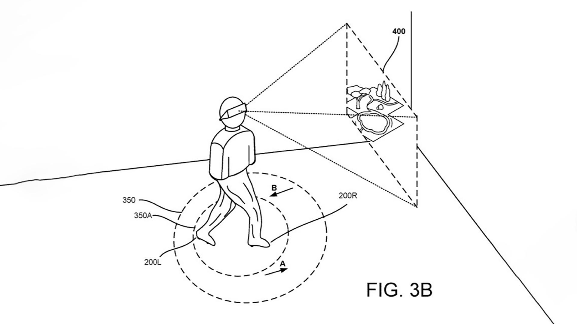 google files patent for motorised virtual reality shoes that moonwalk users to safety