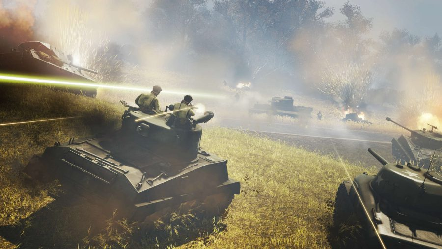 Heroes & Generals update 112 tanks