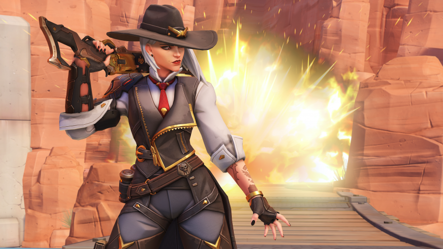 Overwatch patch notes v1 30: all about Ashe | PCGamesN
