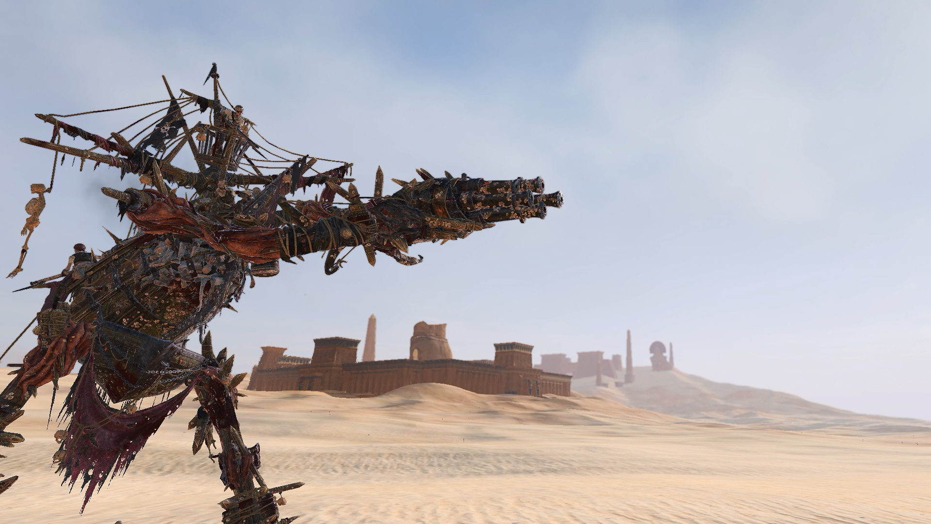 The making of Total War: Warhammer's Necrofex Colossus
