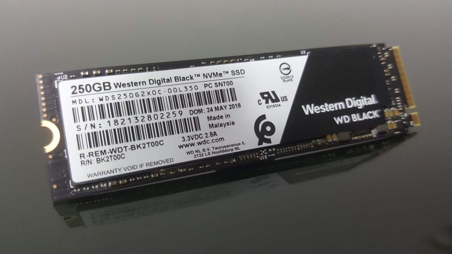 WD Black NVMe SSD performance