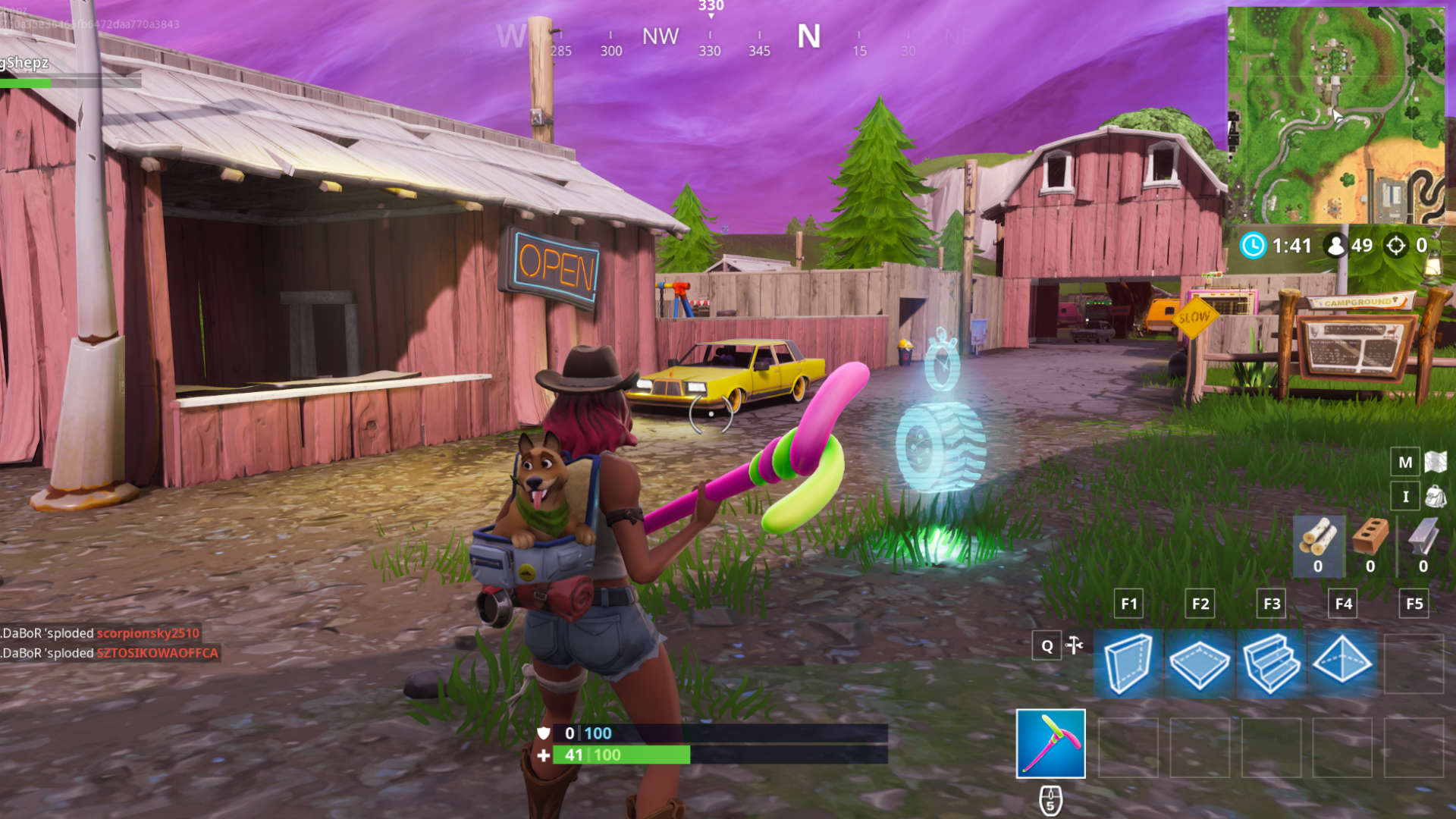 All Fortnite Vehicle Timed Trials Locations Where To