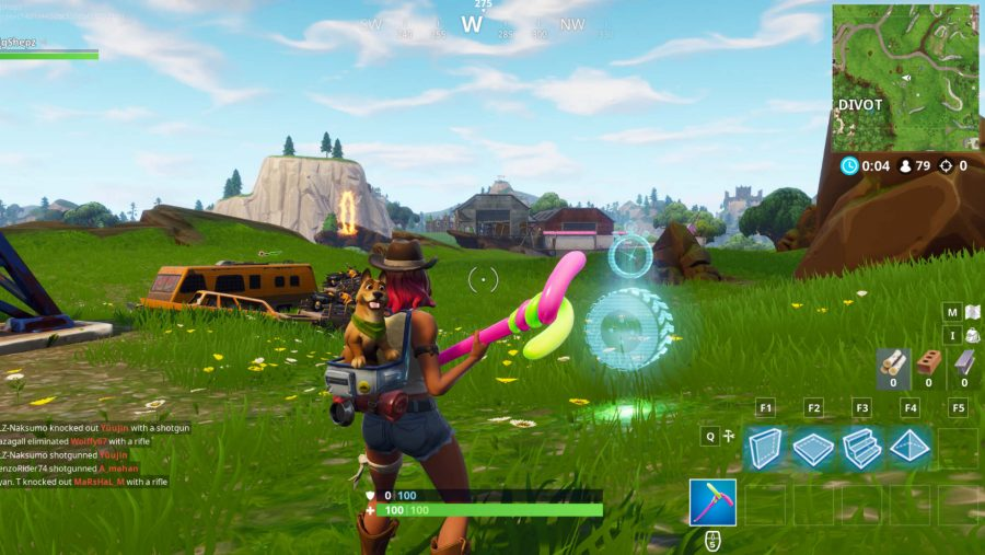 all fortnite vehicle timed trials locations dusty divot