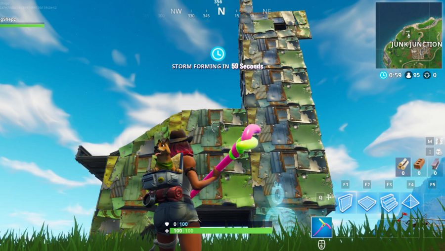 all fortnite vehicle timed trials locations junk junction