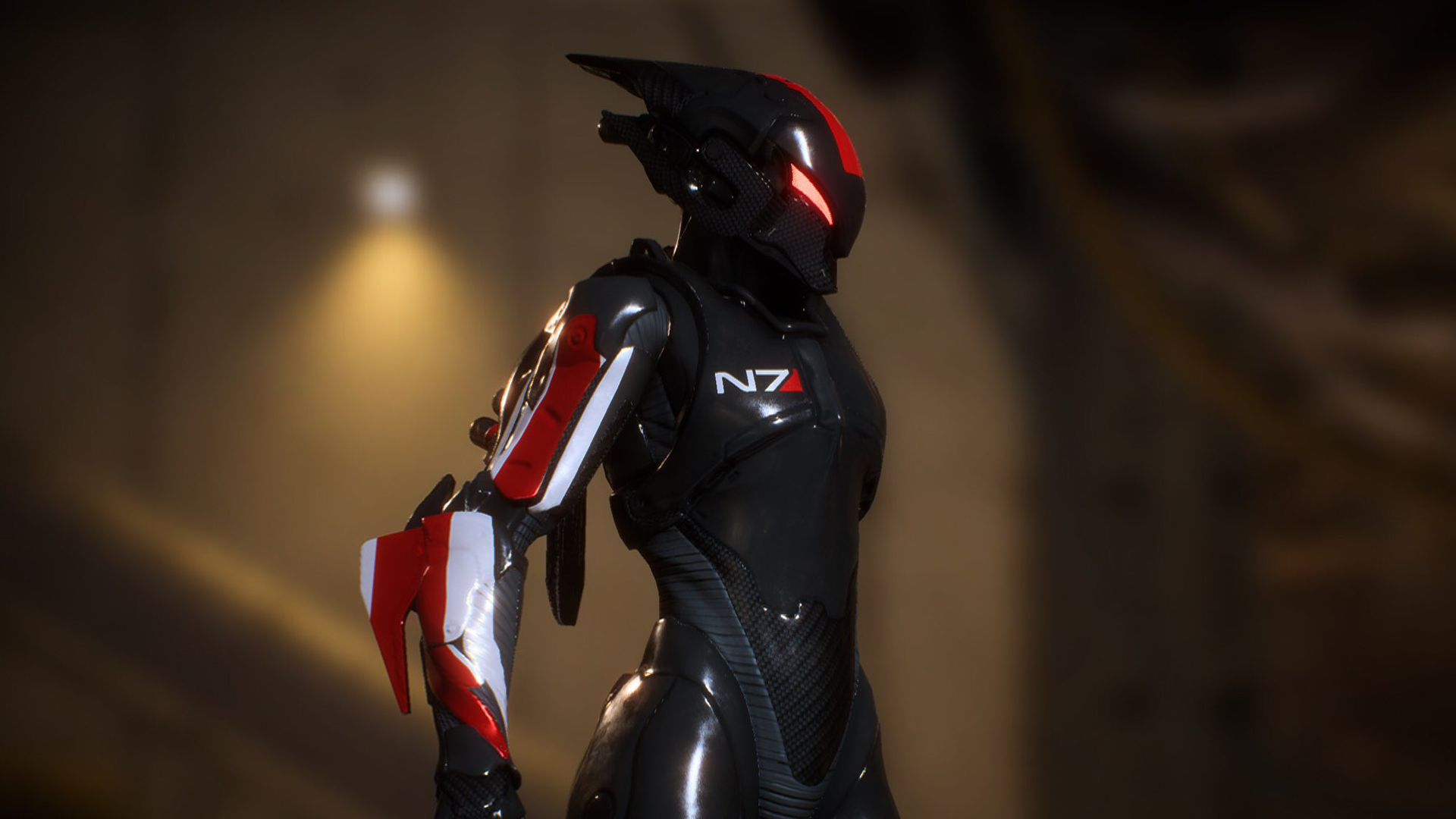 Anthem Will Have Mass Effect Armour Pcgamesn N7 is an armor set consisting of four pieces. anthem will have mass effect armour