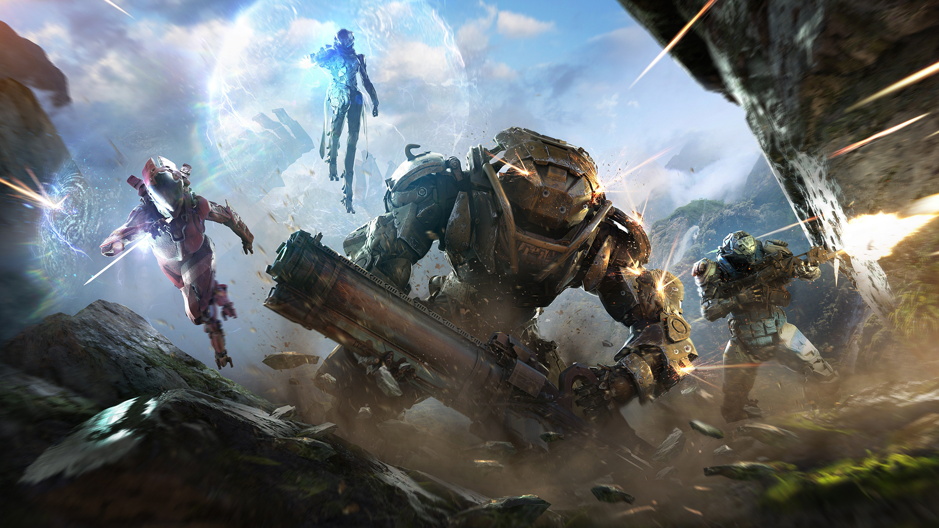 "Anthem won't have cross-play ""at launch"""
