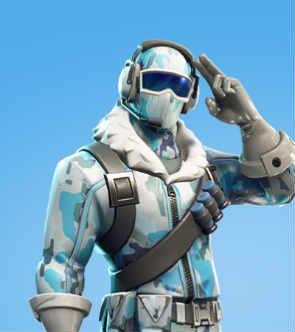 fortnite skins deep freeze bunfdle