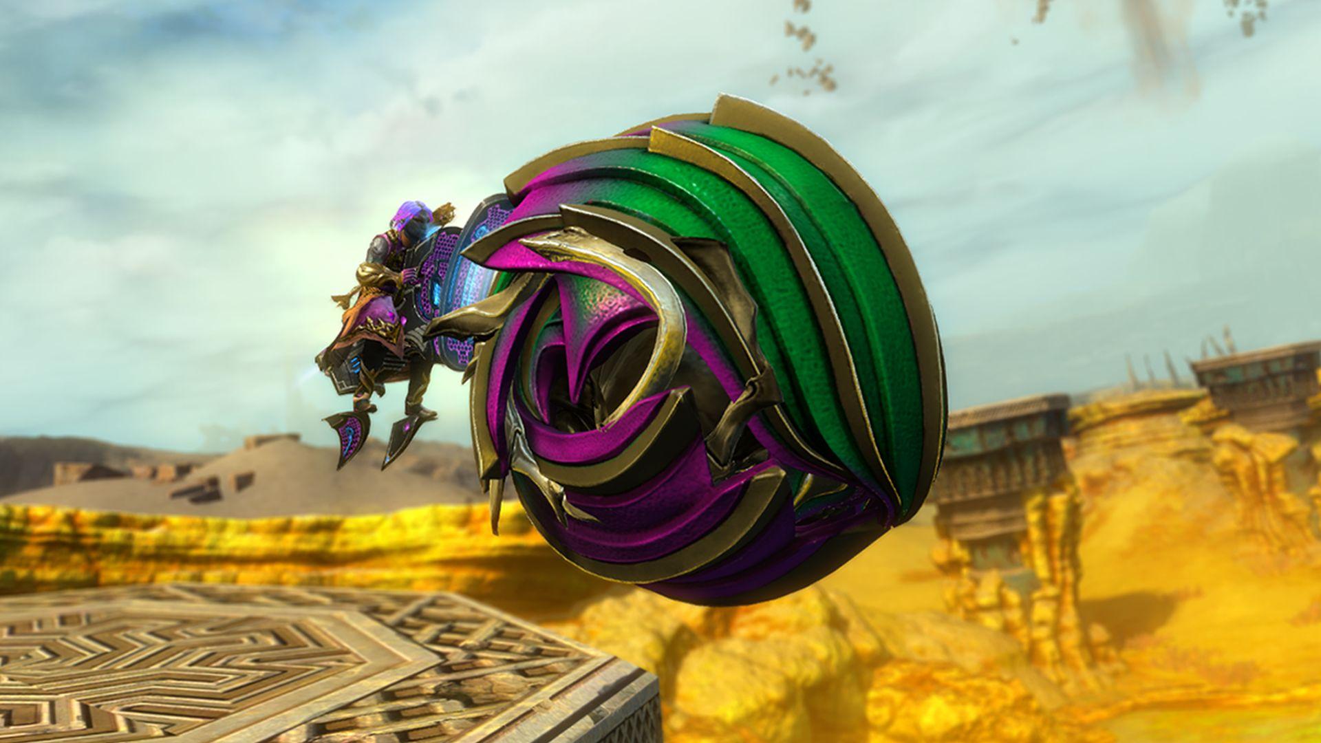 Image result for guild wars 2 roller beetle racing