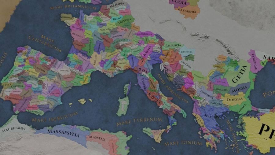 Imperator: Rome map