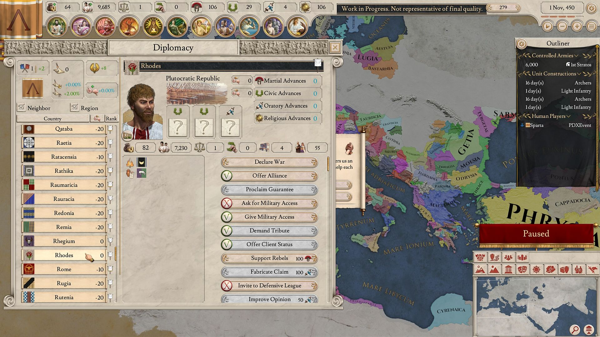 Imperator: Rome plays like a bloody setlist of Paradox's